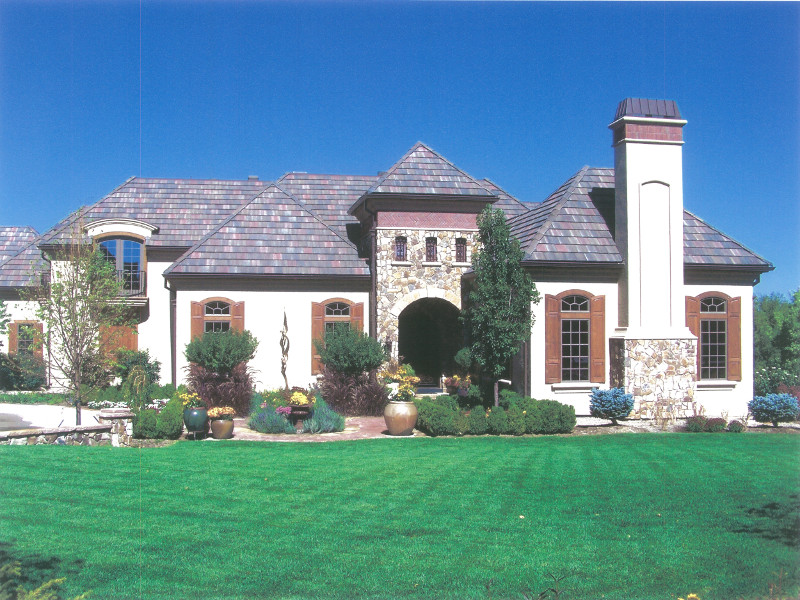French country custom home design house design plans for Custom french country house plans